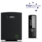 VoIPDistri.com presents new snom M700 IP-DECT multi-cell base station and M65 IP DECT phone